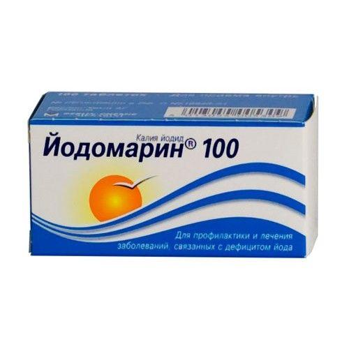Йодомарин 100, 100 мкг, таблетки, 100шт. купить в Москве, инструкция по применению, цена, отзывы и аналоги. Доставка в аптеку или на дом. Производитель препарата Berlin-Chemie/Menarini Group