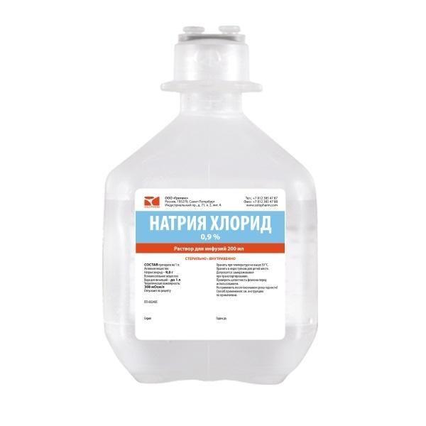 Натрия хлорид (Sodium chloride), инструкция, растворитель ...