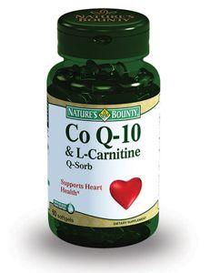 фото упаковки Natures Bounty Коэнзим Q-10 c L-карнитином