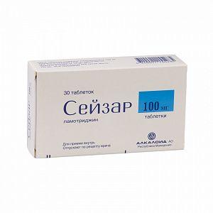 Сейзар, 100 мг, таблетки, 30 шт.