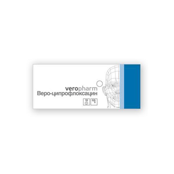 фото упаковки Веро-Ципрофлоксацин