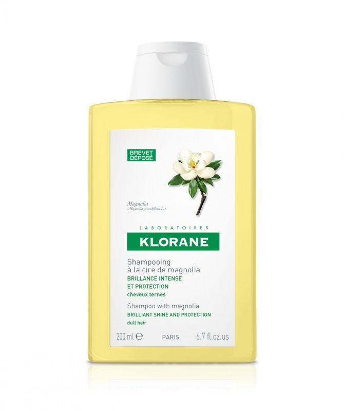 фото упаковки Klorane Шампунь для интенсивного блеска с воском магнолии