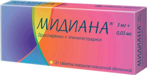 фото упаковки Мидиана