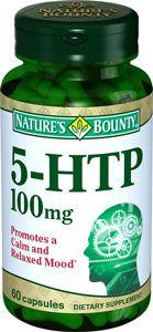 фото упаковки Natures Bounty 5-гидрокситриптофан 100 мг