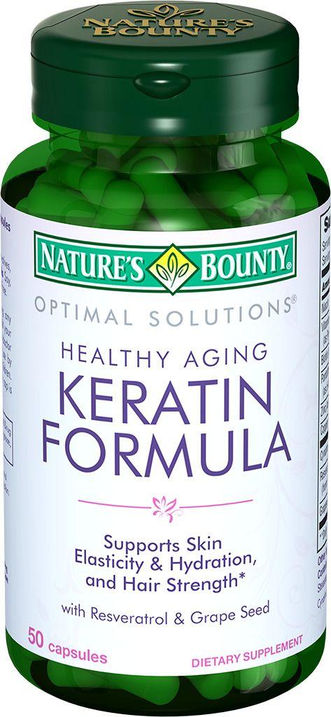 фото упаковки Natures Bounty Кератин формула
