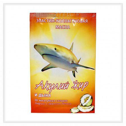 фото упаковки Акулий жир и дыня Маска эластин-коллагеновая