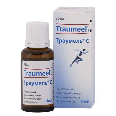 Траумель С, капли для приема внутрь гомеопатические, 30 мл, 1 шт.