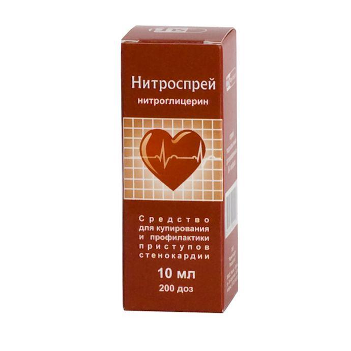 фото упаковки Нитроспрей