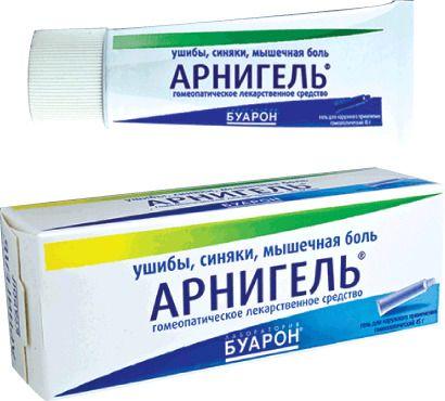 Арнигель, гель для наружного применения гомеопатический, 45 г, 1 шт.