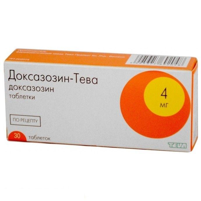 доксазозин инструкция по применению цена отзывы