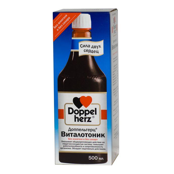 Доппельгерц Виталотоник, раствор для приема внутрь, 500 мл, 1 шт.