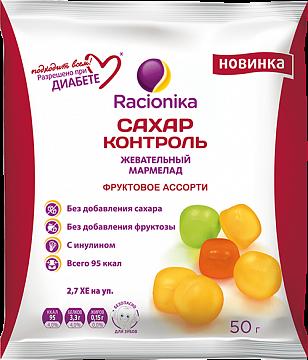 фото упаковки Racionika Сахар-контроль Фруктовое ассорти