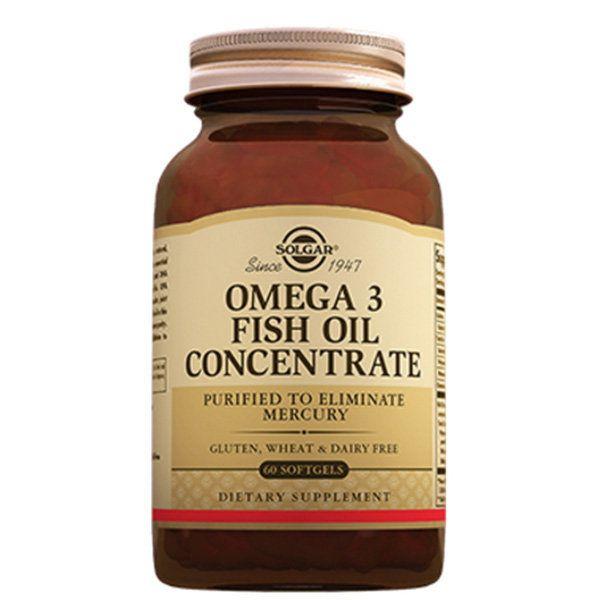 Solgar Концентрат рыбьего жира Омега-3, капсулы, 60 шт.