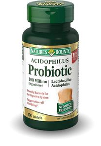 фото упаковки Natures Bounty Пробиотик-Ацидофилус