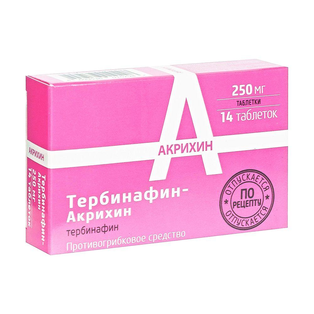 фото упаковки Тербинафин-Акрихин