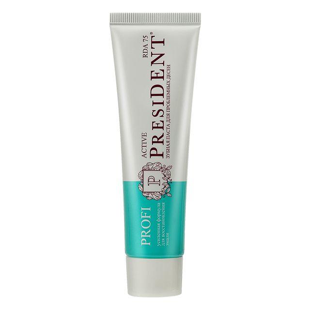 фото упаковки PresiDent Profi Active зубная паста 75 RDA