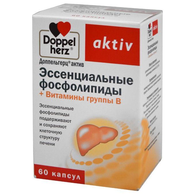 фото упаковки Доппельгерц актив Эссенциальные фосфолипиды+Витамины группы B
