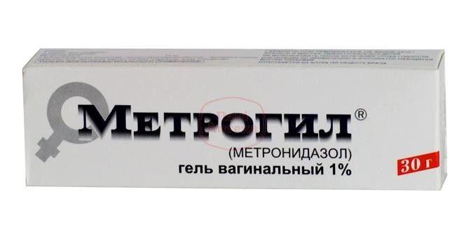 Метронидазол вагиналтный гель