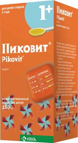 Пиковит (сироп), сироп для детей, 150 мл, 1 шт.