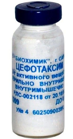 фото упаковки Цефотаксим