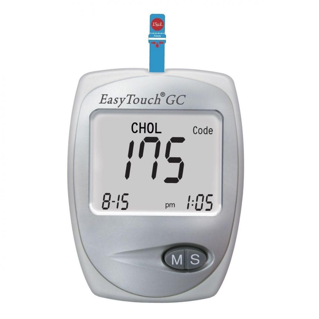 фото упаковки EasyTouch GС Анализатор крови биохимический глюкоза-холестерин