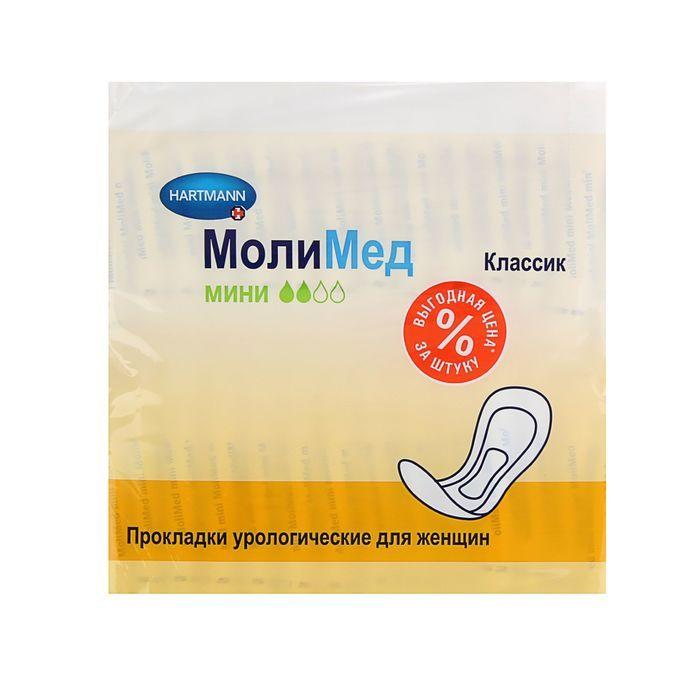 фото упаковки Molimed Classic прокладки урологические для женщин Мини
