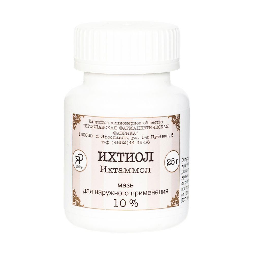 фото упаковки Ихтиоловая мазь
