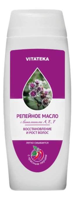 фото упаковки Витатека Репейное масло с красным перцем