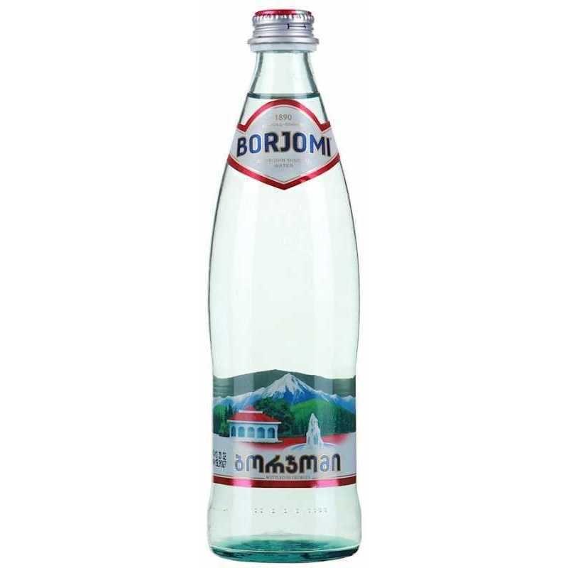 фото упаковки Вода минеральная Боржоми