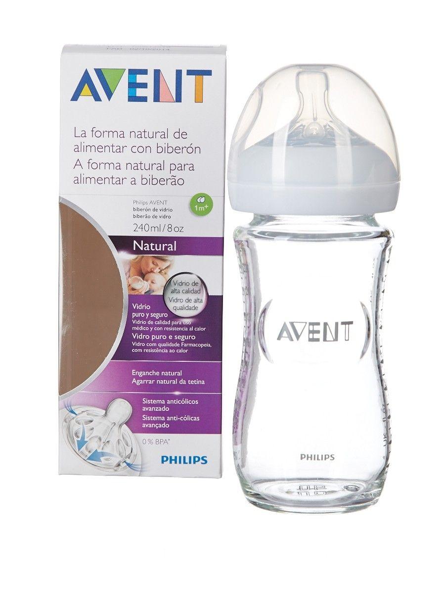 фото упаковки Бутылочка Philips AVENT Natural стеклянная