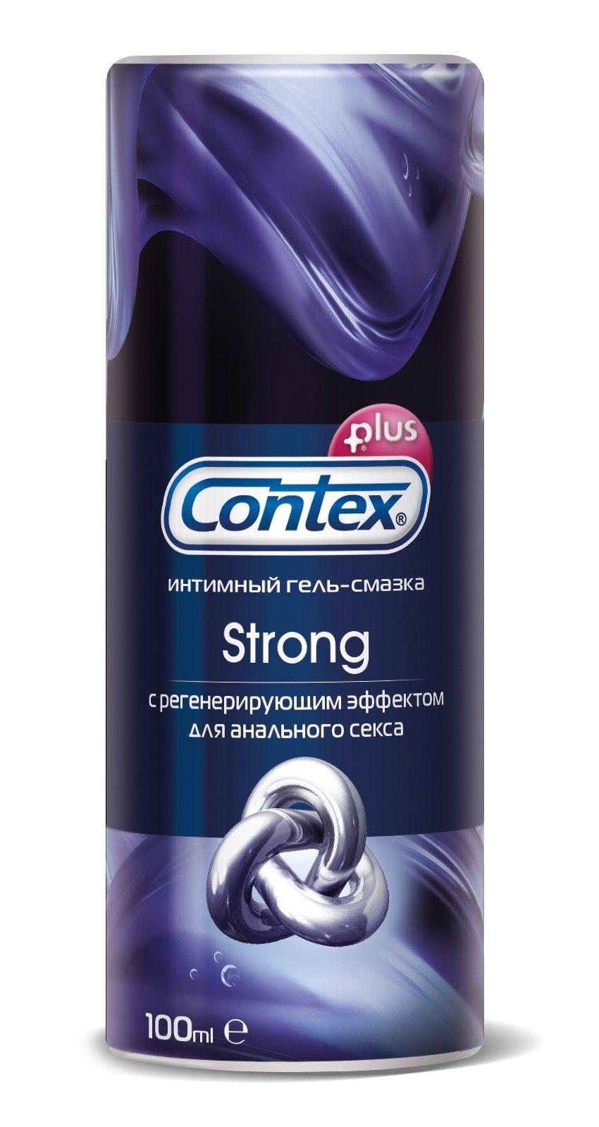 фото упаковки Гель-смазка Contex Strong
