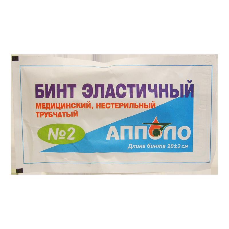 фото упаковки Бинт медицинский эластичный сетчато-трубчатый фиксирующий