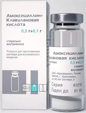 фото упаковки Амоксициллин+Клавулановая кислота