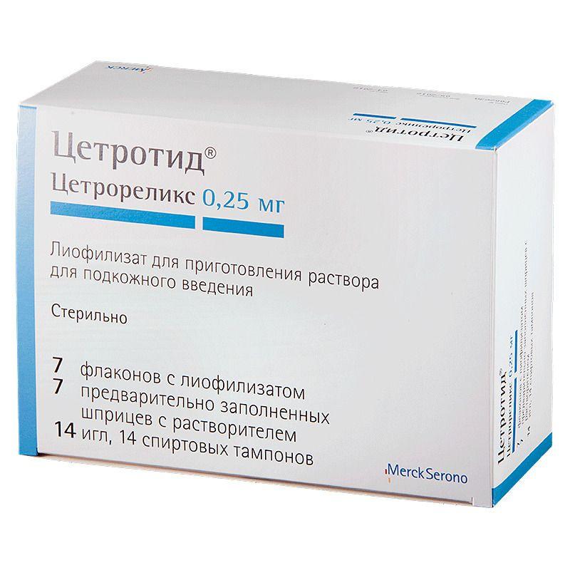 фото упаковки Цетротид