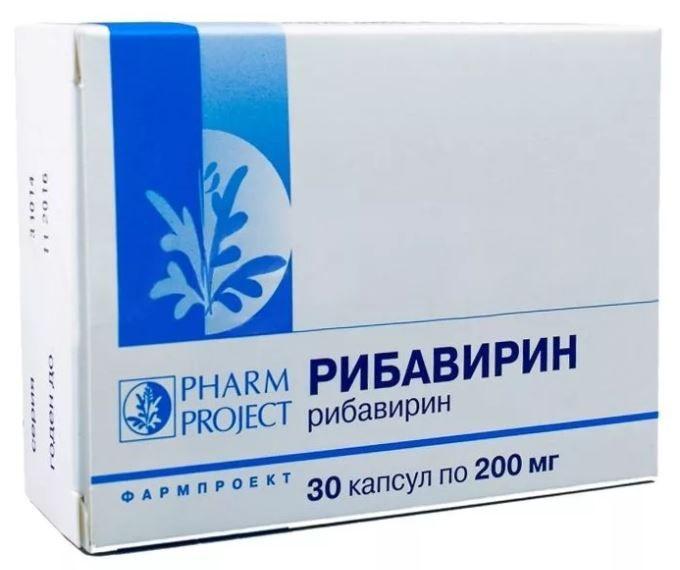 фото упаковки Рибавирин