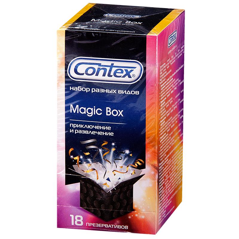 фото упаковки Презервативы Contex Magic Box Приключение и развлечение