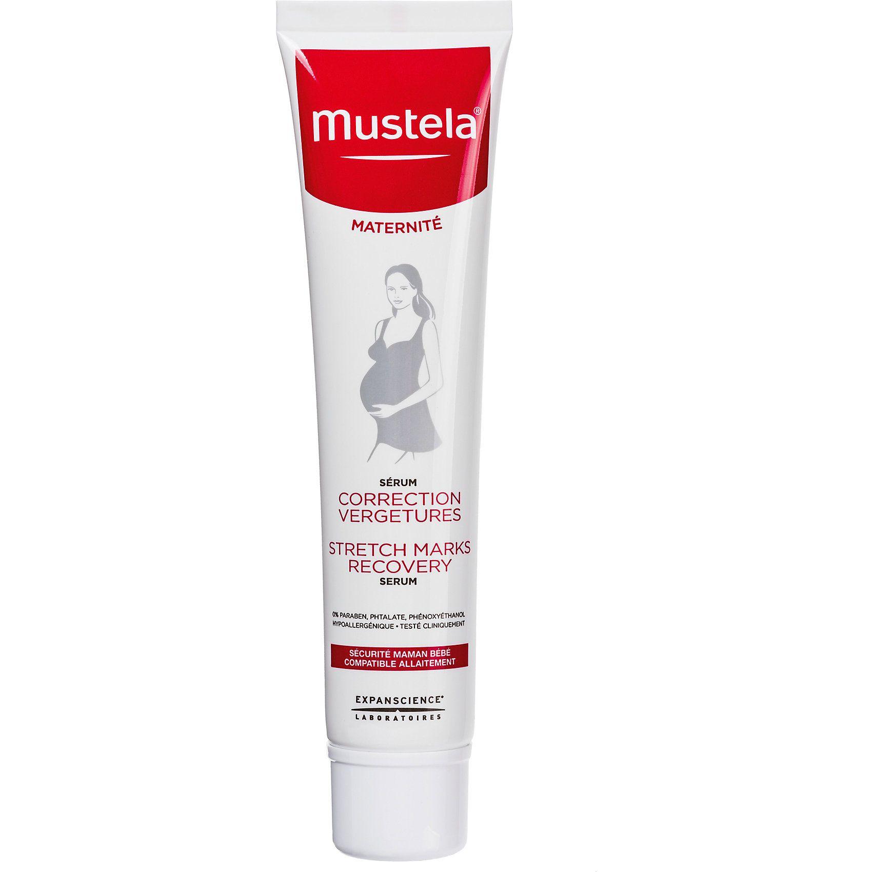 фото упаковки Mustela Восстанавливающая сыворотка против растяжек