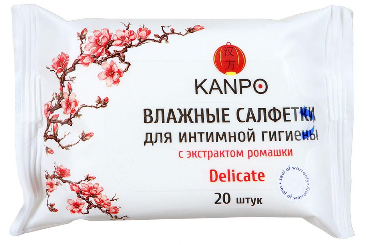фото упаковки Kanpo Салфетки влажные для интимной гигиены