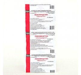 фото упаковки Левомицетин