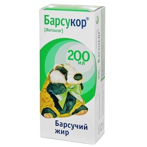 фото упаковки Барсукор барсучий жир