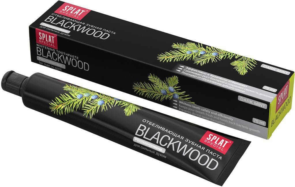 фото упаковки Splat Special Зубная паста Blackwood