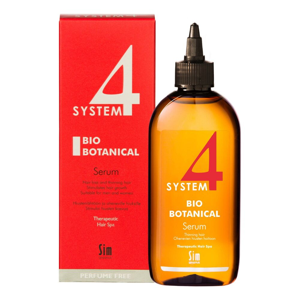 System 4 Биоботаническая сыворотка против выпадения волос, сыворотка, 200 мл, 1 шт.