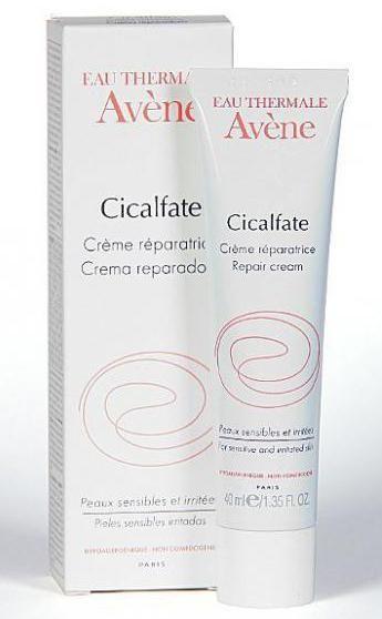 фото упаковки Avene Cicalfate крем восстанавливающий целостность кожи