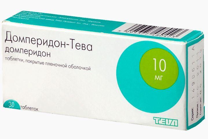 фото упаковки Домперидон-Тева