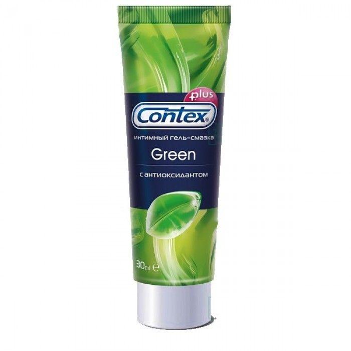 Гель-смазка Contex Green, гель, антибактериальный (-ая; -ое; -ые), 30 мл, 1 шт.