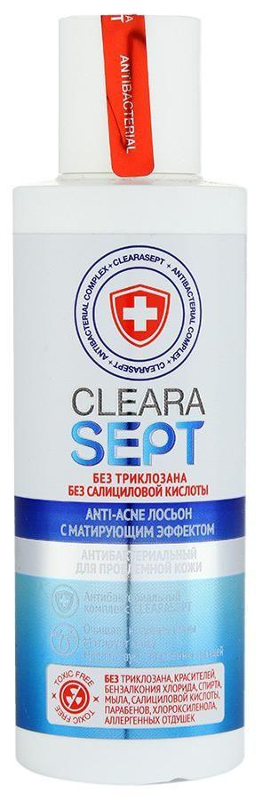 фото упаковки ClearaSept Лосьон антибактериальный с матирующим эффектом