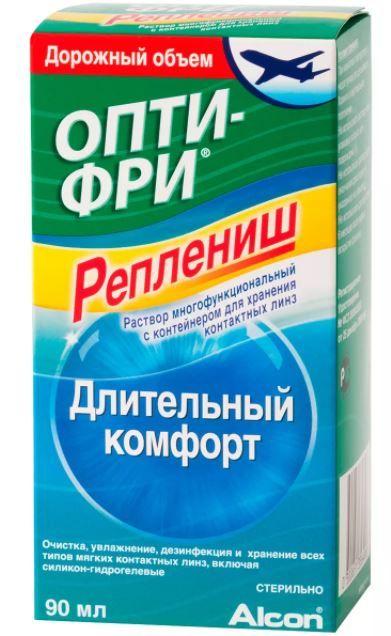 Опти-Фри Реплениш, раствор-капли глазные, 90 мл, 1 шт.