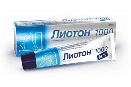 Лиотон 1000, 1000 ЕД/г, гель для наружного применения, 100 г, 1шт.