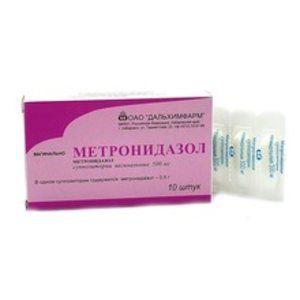 фото упаковки Метронидазол (свечи)