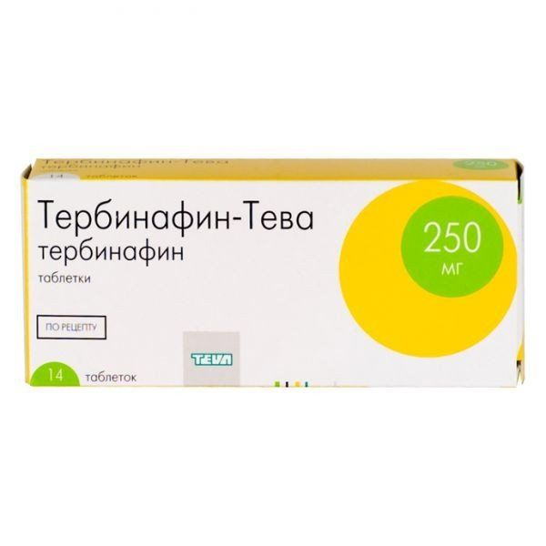 фото упаковки Тербинафин-Тева